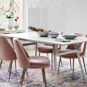 West Elm Mid-Century Expandable Dining Table - Pebble for Sale in Franklin, TN