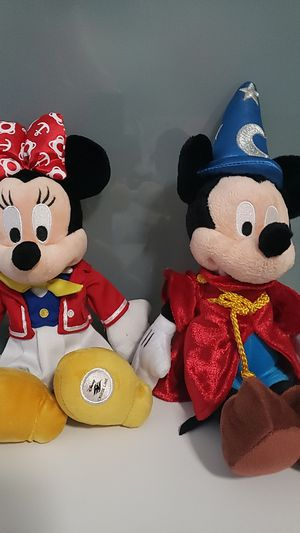 Micky and Minnie plushies for Sale in Hialeah, FL