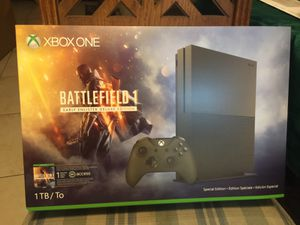 XBOX ONE S BATTLEFIELD 1 EARLY ENLISTER DELUXE EDITION 1TB for Sale in Miami, FL