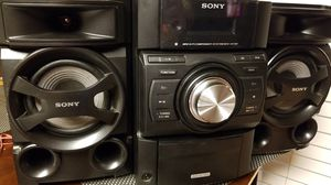 Sony stereo system w/ ipod docking and cd for Sale in Merced, CA