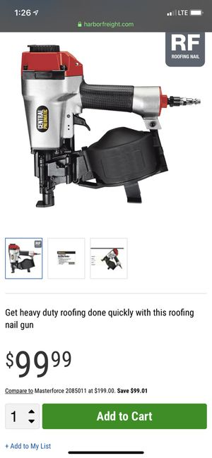 Roofing nail gun for Sale in Bakersfield, CA