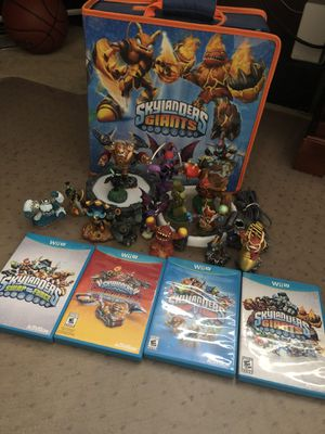 Nintendo Wii U Skylanders Lot and Case for Sale in San Ramon, CA