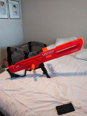 Mega nerf gun accustrike for Sale in Melbourne Village, FL