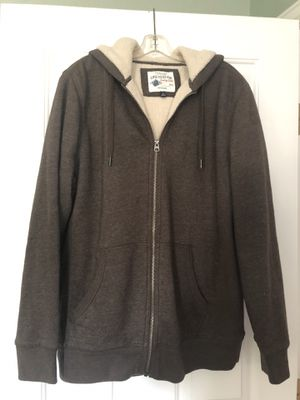 New Heather Brown Men's Hoodie by Sonoma -$25 for Sale in Berthoud, CO