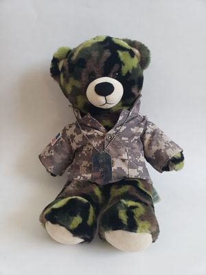 """Military Bear 18"""" Plush Teddy Fatigue for Sale in Las Cruces, NM"""