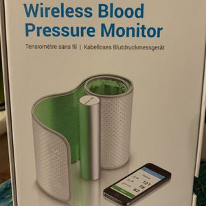 Whitings Bluetooth Blood Pressure Cuff for Sale in Cambridge, MA
