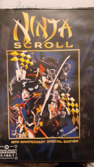 Ninja scroll dvd for Sale in Dry Ridge, KY