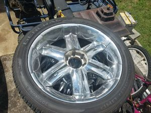"23"" wheels 3 good tires one need replace for Sale in TN, US"