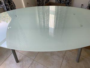 Ikea glass desk for Sale in Pembroke Pines, FL