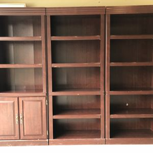 Set Of 3 Bookshelves for Sale in Cary, NC