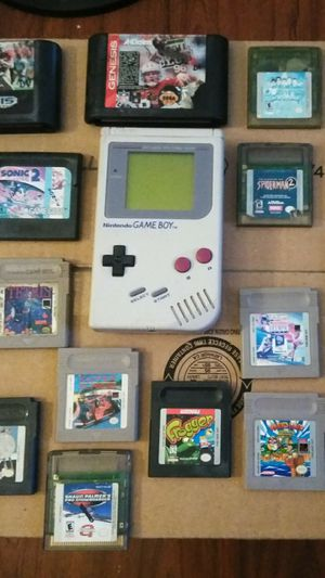 Nintendo Gameboy w/ 25 Games! / Namco Pacman 1982 Handheld & More!! for Sale in Modesto, CA