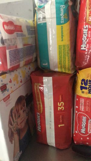 Size 1 Diapers for Sale in Fort Myers, FL