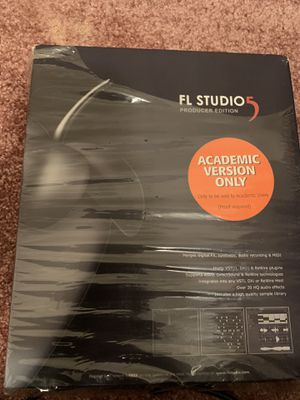 Fl Studio 5 Producer Edition for Sale in Lithonia, GA