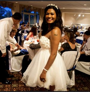 Elegant dress/second wedding dress size 9/10 for Sale in Alexandria, VA