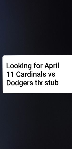 Ticket stubs for Sale in St. Louis, MO