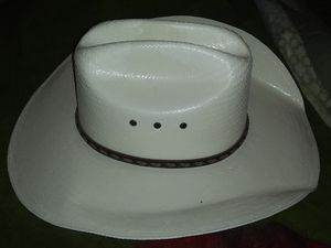 Cowboy Hat, Justin, size 10..worn once or twice, mint condition for Sale in Florence, MS