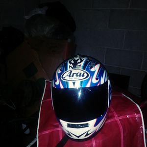 Motorcycle helmet slightly used model# M2000 size 6 3/8. 7 1/8 55-56cm for Sale in Denver, CO