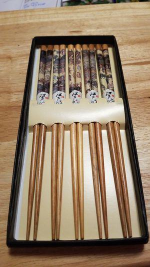 Wooden chopsticks for Sale in Bunker Hill, WV
