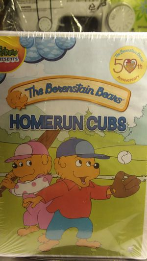 The Berenstain Bears 50th Anniversary Homerun Cubs DVD for Sale in Bakersfield, CA