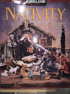 Kirkland Nativity Set for Sale in Joint Base Lewis-McChord, WA