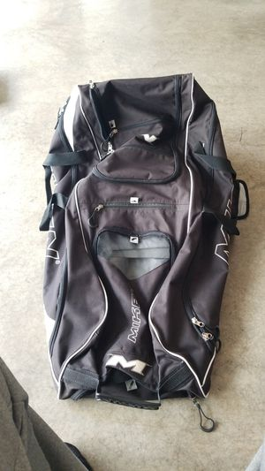 Miken large rolling bat bag for Sale in Puyallup, WA