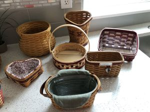 Small Longaberger Baskets $175 for lot for Sale in Beaverton, OR