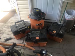Ridgid shop vac Handyman special for Sale in Alexandria, VA