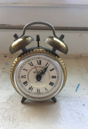 Bulova alarm clock for Sale in Queens, NY