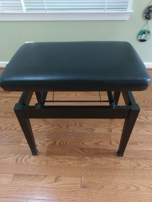 Leather piano chair for Sale in South Riding, VA