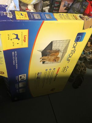 Large dog foldable crate for Sale in Beaverton, OR