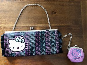 Loungefly Sanrio Winkins Hello Kitty Kisslock Clutch Bag & Coin Purse Set for Sale in Las Vegas, NV