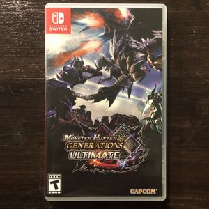 Monster Hunter Generation Ultimate (Nintendo Switch) for Sale in Norco, CA