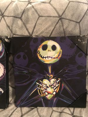 Nightmare before Christmas canvases for Sale in Manteca, CA