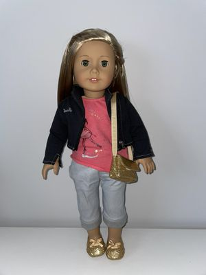 American girl doll Isabelle with matching outfit for Sale in Miami, FL