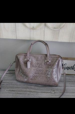 Coach Lavender Shimmer Handbag for Sale in Abilene, TX