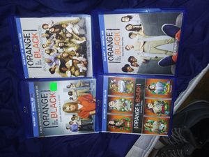 Orange is the new black blue ray for Sale in Arvada, CO