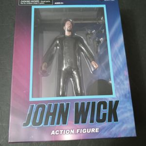 "DIAMOND SELECT TOYS JOHN WICK 7"" ACTION FIGURE WALGREENS EXCLUSIVE KEANU REEVES for Sale in Miami, FL"