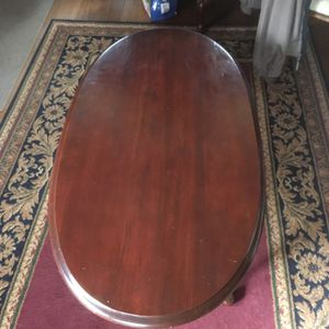 Cherry coffee table for Sale in Prospect, ME