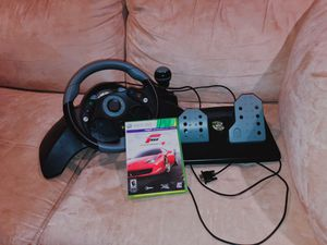 XBOX 360 RACING SET PIECES + GAME for Sale in Annandale, VA