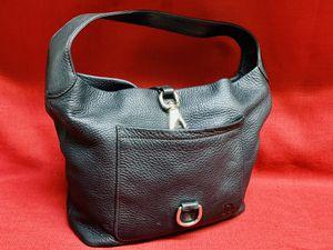 "Dooney & Bourke Black Pebble Leather Hobo Purse Shoulder Hand Bag 12""x 11""tall for Sale in Las Vegas, NV"