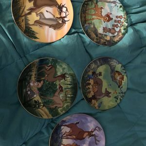 Disney Bambi Collectors Plates for Sale in Jamul, CA