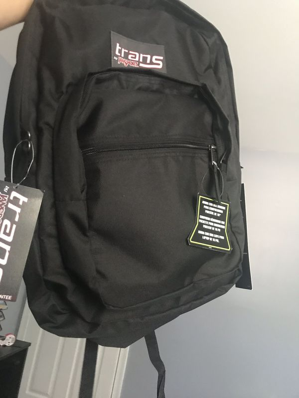 "Trans by JanSport 19"" SuperMax Backpack color Black"