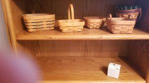 Longaberger baskets for Sale in Denver, CO