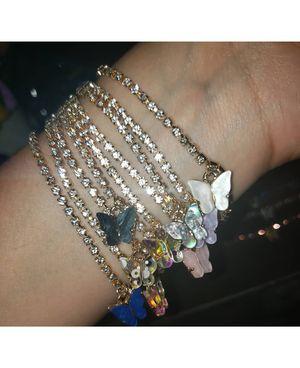 Butterfly Bracelets 🦋 $4 each !!! for Sale in Bloomington, CA