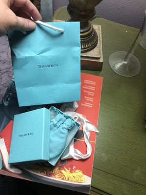 Tiffany packaging set for Sale in Houston, TX