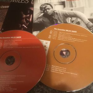 The Essential Miles Davis Double CD Now's the Time, So What, Summertime for Sale in Newburgh Heights, OH