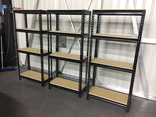 Garage storage shelves/ racks
