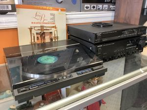 Kenwood KA-8805D Amplified Receiver, Kenwood KT 880 Tuner, & Pioneer PL-L50 Record Player for Sale in Virginia Beach, VA