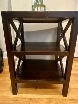 Solid Wood Side Table for Sale in Chicago, IL
