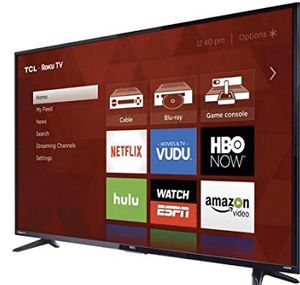 "TCL 55"" CLASS 4-SERIES 4K UHD HDR ROKU SMART TV - 55US57 for Sale in Saint Paul, MN"
